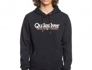 QUIKSILVER TROPICAL LINES SCREEN FLEECE EQYFT04204-KVJ0 Μαύρο