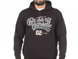 Russell Athletic ALABAMA STATE – PULL OVER HOODY A0-014-2-099 Μαύρο