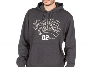 Russell Athletic ALABAMA STATE – PULL OVER HOODY A0-014-2-098 Ανθρακί