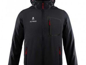 Softshell jacket Alpinus Stenshuvud black BR43371