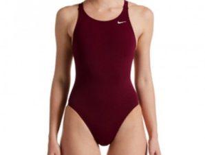 Swimwear Nike Hydrastrong Solid W NESSA001-622 BURGUNDY