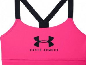 Under Armour Mid Sportstyle Graphic W UAR 1351 998 653 sports bra